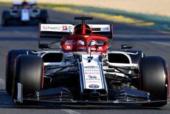 Kimi Raikkonen, Alfa Romeo tijdens de GP van Australie F1 Seizoen 2019
