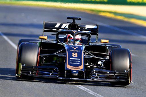 Romain Grosjean, Haas tijdens de GP van Australie F1 Seizoen 2019