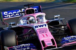 Sergio Perez, Racing Point tijdens de GP van Australie F1 Seizoen 2019