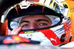 Max Verstappen helm foto GP Azerbeidzjan, Baku