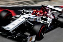 Kimi Raikkonen in actie tijdens de GP van Oostenrijk