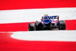 Lance Stroll Sfeer actie tijdens de GP van Oostenrijk 2019