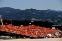 Max Verstappen in actie in Oostenrijk 2019