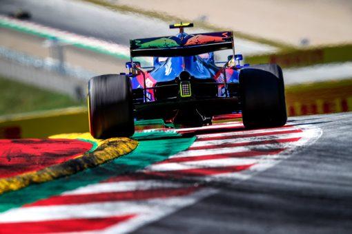 Alex Albon GP Oostenrijk 2019
