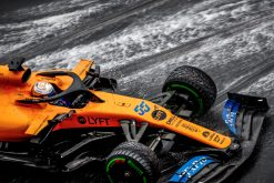Carlos Sainz Actie Foto GP Duitsland 2019