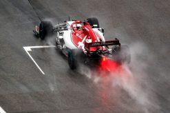 Kimi Raikkonen Actie Foto GP Duitsland 2019
