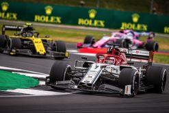 Kimi Raikkonen race foto GP Engeland 2019