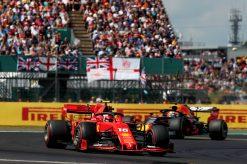 Charles Leclerc race foto GP Engeland 2019