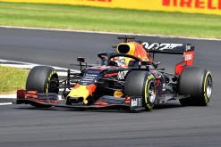 Max Verstappen Actie Foto GP Engeland 2019