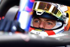 Max Verstappen Helm Foto GP Engeland 2019