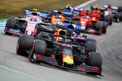 Max Verstappen Race Foto GP Duitsland 2019