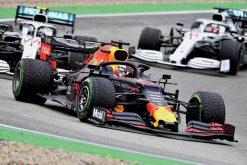 Max Verstappen Race Foto - GP Duitsland 2019