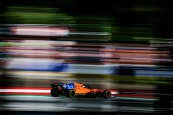Lando Norris McLaren in Oostenrijk 2019