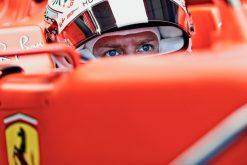 Sebastian Vettel Helm foto GP Duitsland 2019