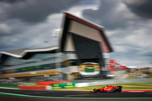 Sebastian Vettel Sfeer foto GP Engeland 2019