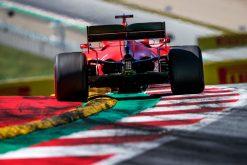 Sebastian Vettel Ferrari in Oostenrijk, Red Bull Ring 2019