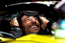 Daniel Ricciardo portret foto tijdens de GP van Hongarije 2019