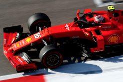 Leclerc F1 GP Rusland 2019