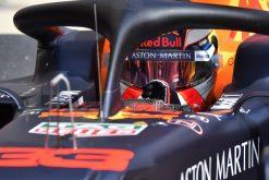 Max Verstappen Helm Foto GP Rusland