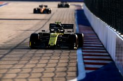 Nico Hulkenberg actie F1 Rusland 2019