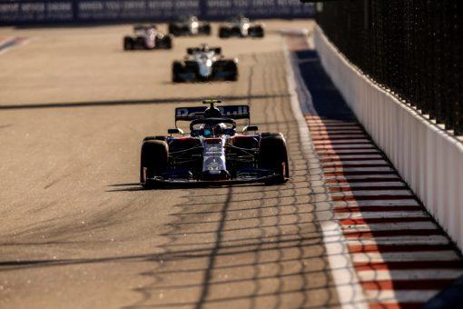 Pierre Gasly F1 GP Rusland 2019