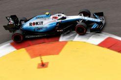 Robert Kubica actie F1 Rusland 2019
