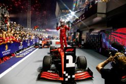 Vettel Winnaar GP Singapore 2019