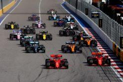 Vettel start GP Rusland 2019