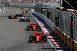 Vettel op kop Rusland 2019