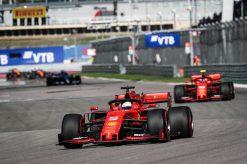 Sebastian Vettel F1 race Rusland 2019