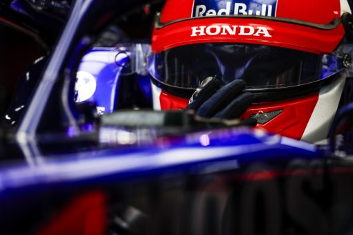 Daniil Kvyat GP Japan 2019 Helm foto