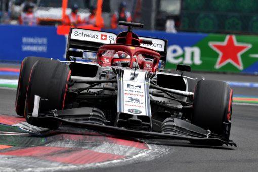 Kimi Raikkonen Kwalificatie GP Mexico 2019