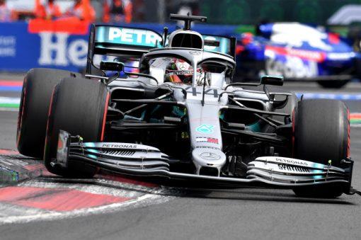 Lewis Hamilton Kwalificatie GP Mexico 2019