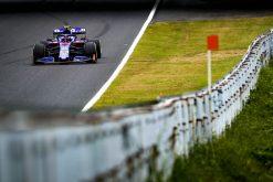Pierre Gasly GP Japan 2019 actie sfeer foto