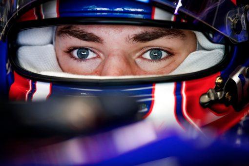 Pierre Gasly Helm foto GP Japan 2019