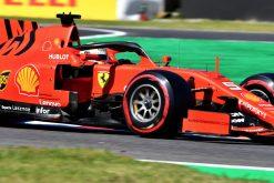 Sebastian Vettel Actie foto GP Japan 2019