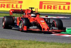 Sebastian Vettel Actie in Japan 2019