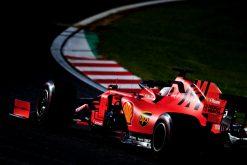 Sebastian Vettel GP Japan 2019 sfeer foto