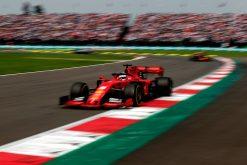 Sebastian Vettel foto GP Mexico 2019
