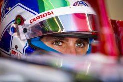 Antonio Giovinazzi, Alfa Romeo GP Abu Dhabi Formule 1 Seizoen 2019 Helm Foto