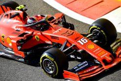 Charles Leclerc, Ferrari GP Abu Dhabi 2019 Actie Foto