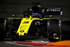 Daniel Ricciardo, Renault tijdens de vrije training GP Abu Dhabi Formule 1 Seizoen 2019. Actie Fot