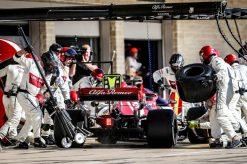 Kimi Raikkonen Pitstop Amerika 2019