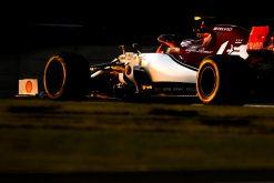 Kimi Raikkonen, Alfa Romeo in actie GP Abu Dhabi Formule 1 Seizoen 2019 Sfeer Foto