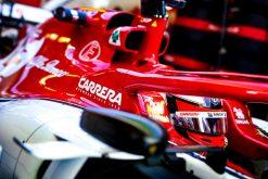 Kimi Raikkonen, Alfa Romeo GP Abu Dhabi Formule 1 Seizoen 2019. Helm Foto