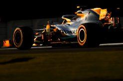 Lewis Hamilton Sfeer Abu Dhabi 2019