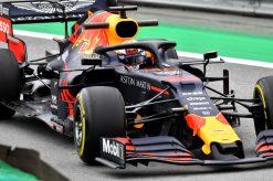 Max Verstappen Actie GP Brazilie 2019