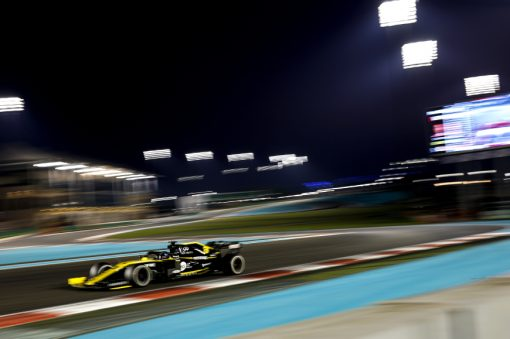 Daniel Ricciardo Abu Dhabi Actie 2019