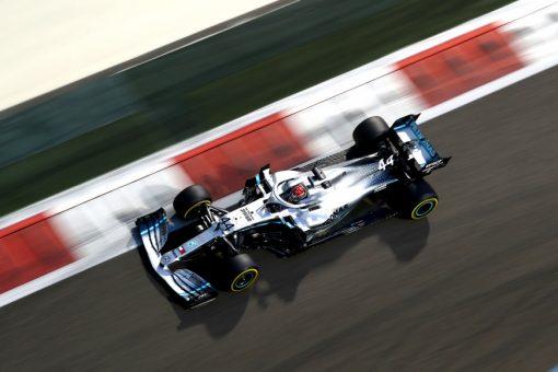 Lewis Hamilton Abu Dhabi 2019 Actie