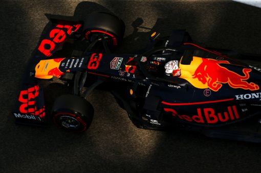 Max Verstappen Abu Dhabi 2019 Actie